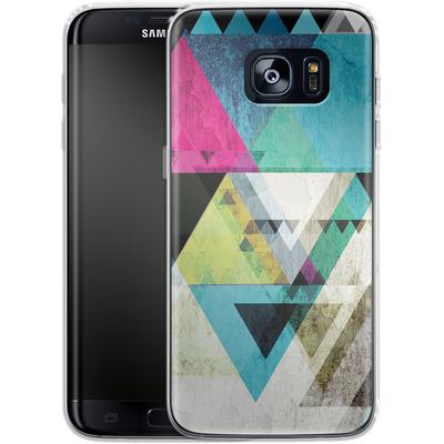 Samsung Galaxy S7 Edge Silikon Handyhuelle - Graphic 4x von Mareike Bohmer