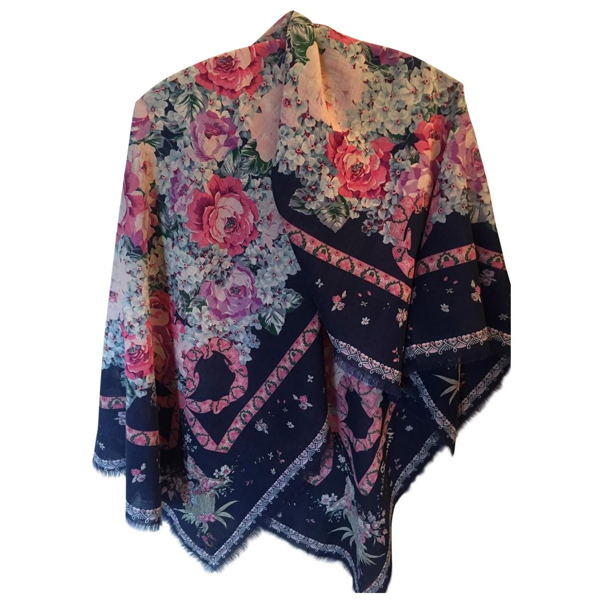 Nina Ricci - Foulard   pour femme en laine - marine