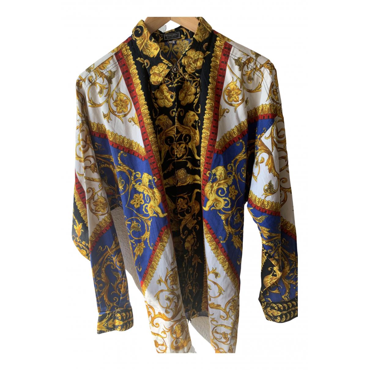 Versus - Chemises   pour homme en coton - multicolore
