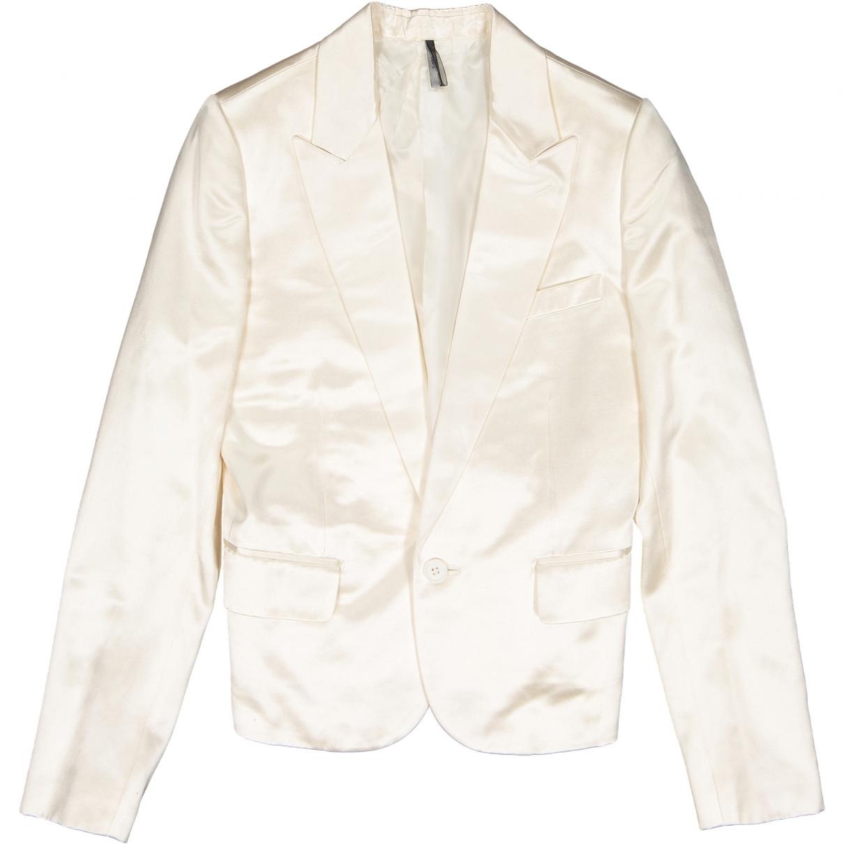Dior \N Ecru Cotton jacket for Women 40 FR