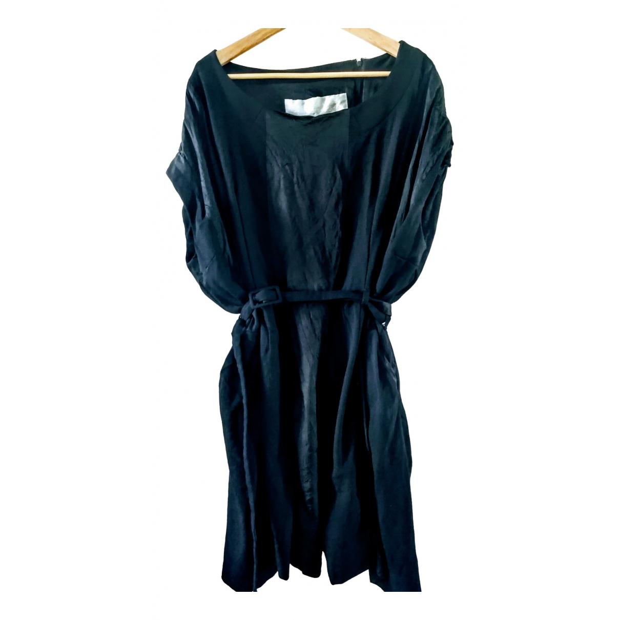 Maison Martin Margiela Pour H&m \N Kleid in  Schwarz Baumwolle