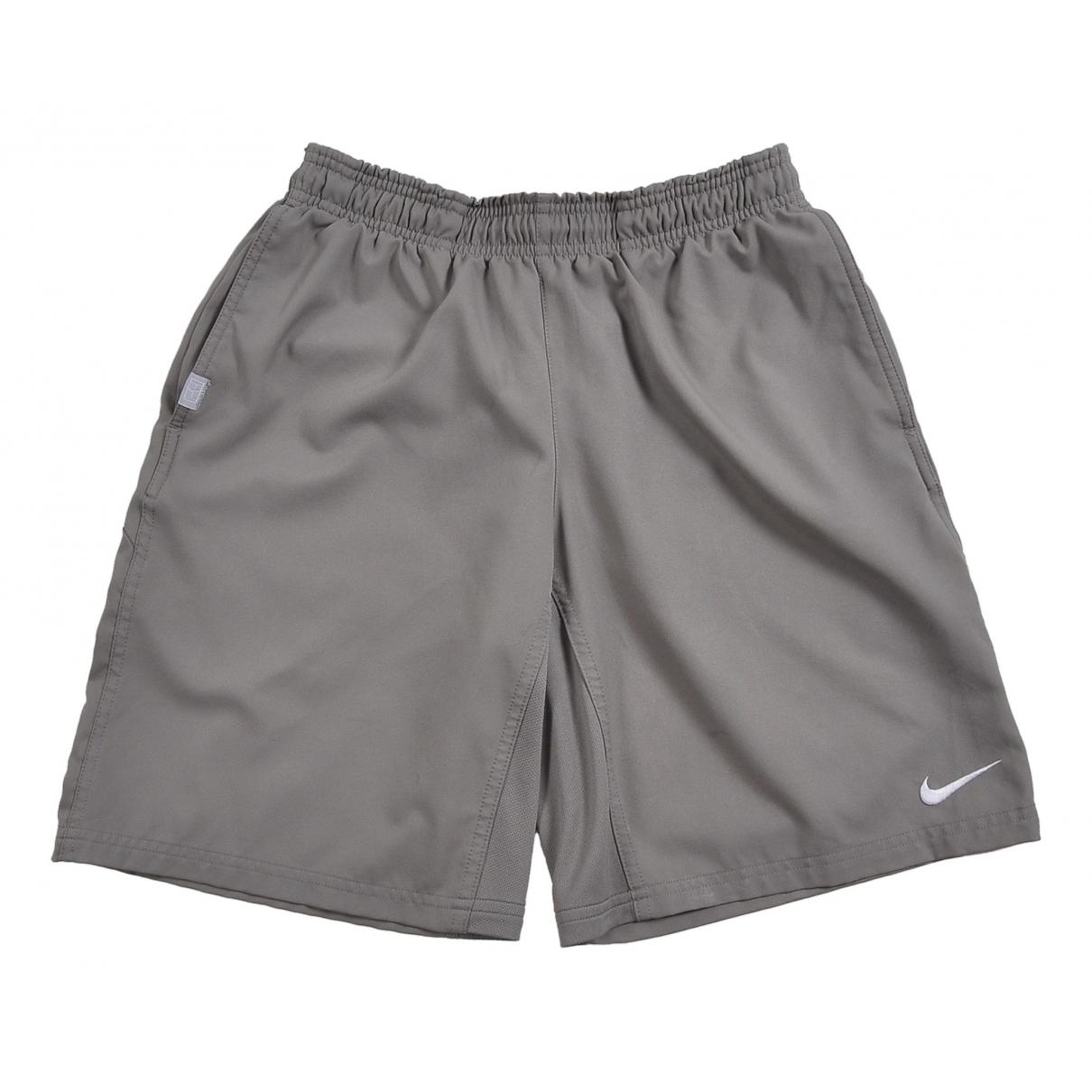 Nike \N Shorts in  Grau Polyester