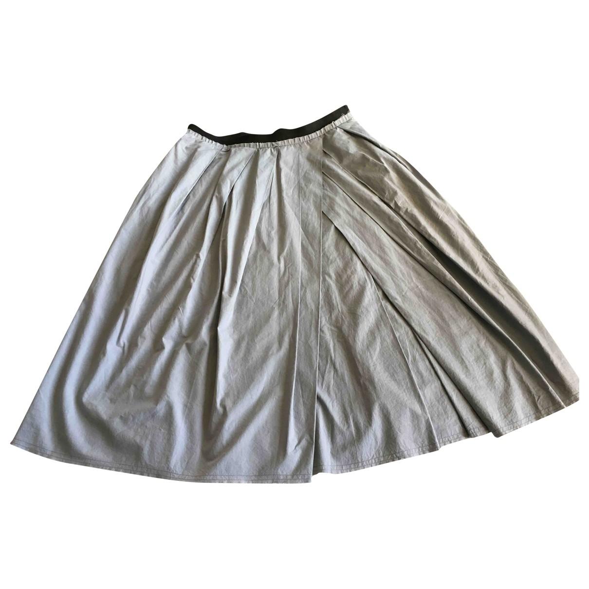Marni - Jupe   pour femme en coton - gris