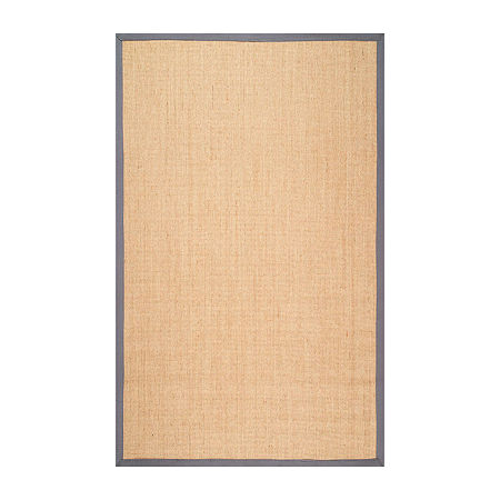nuLoom Orsay Sisal Rug, One Size , Gray