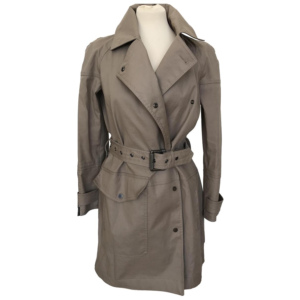 Belstaff \N Beige Cotton coat for Women 40 IT