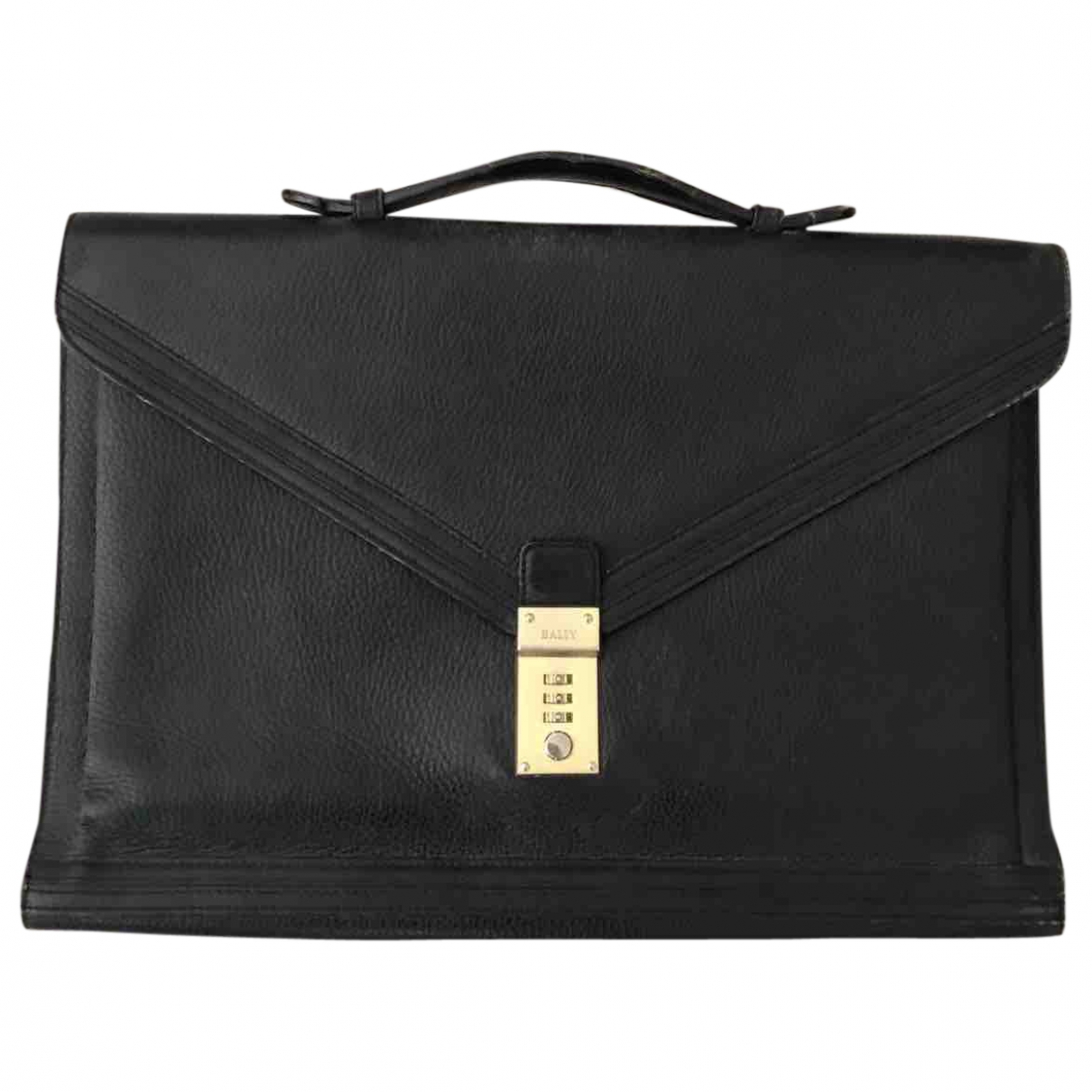 Bally \N Black Leather bag for Men \N