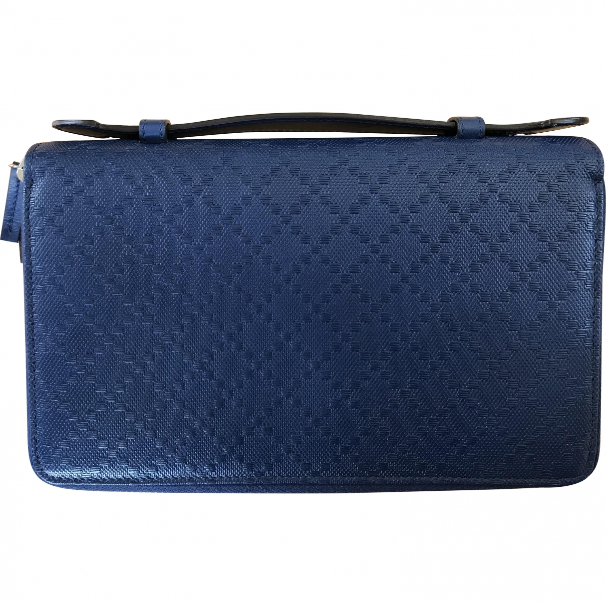 Gucci \N Blue Leather Purses, wallet & cases for Women \N