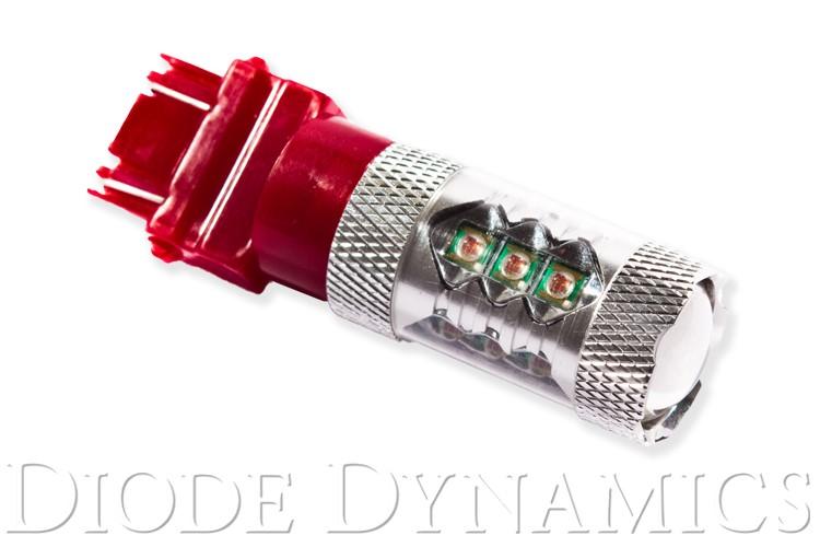 Diode Dynamics DD0059S 3157 LED Bulb XP80 LED Red Single