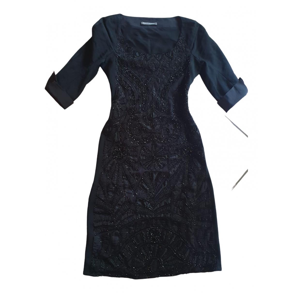 Alberta Ferretti \N Kleid in  Schwarz Polyester