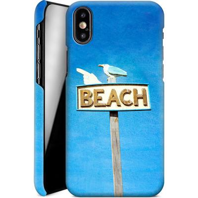 Apple iPhone XS Smartphone Huelle - Beach von Joy StClaire