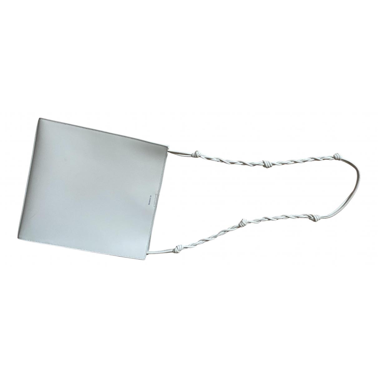 Jil Sander - Sac a main Tangle pour femme en cuir - blanc