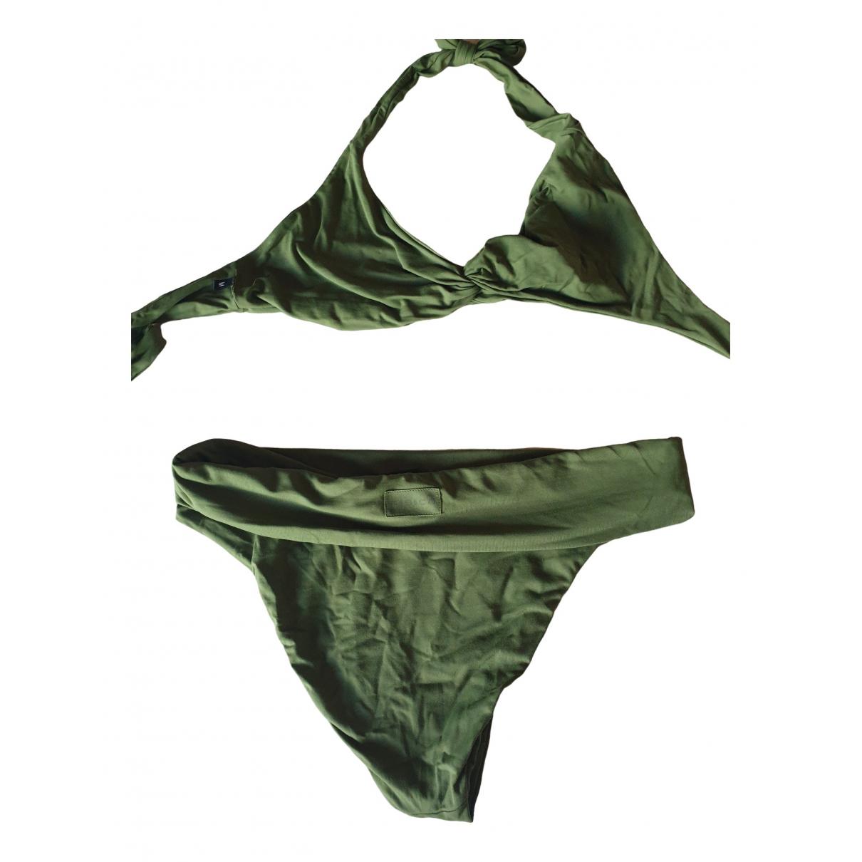 Non Signé / Unsigned \N Green Lycra Swimwear for Women 42 IT