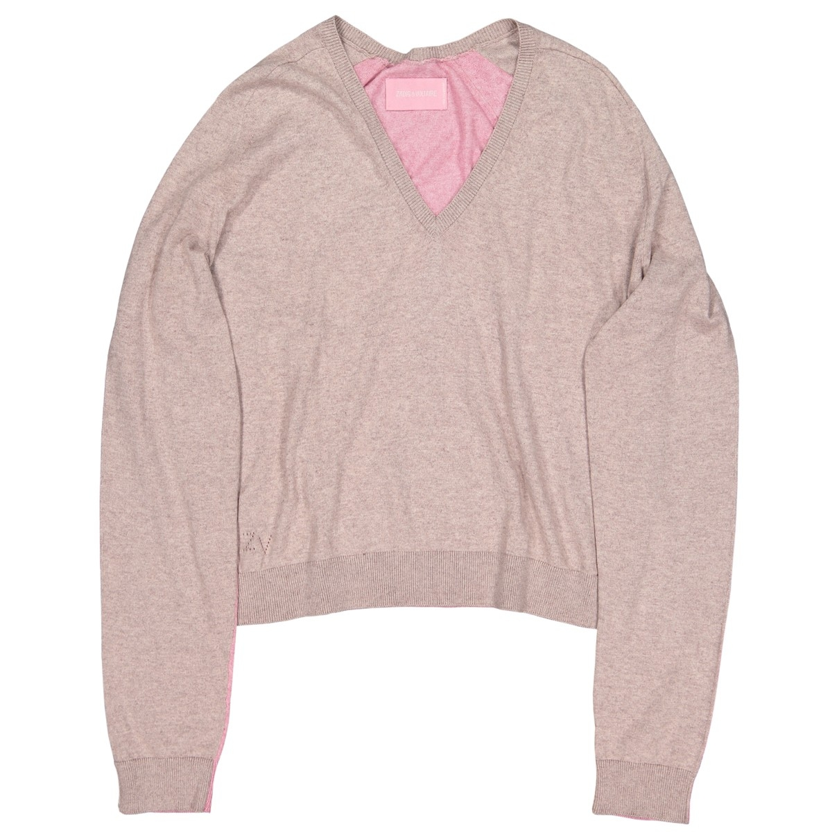 Zadig & Voltaire \N Pink Cotton Knitwear for Women S International