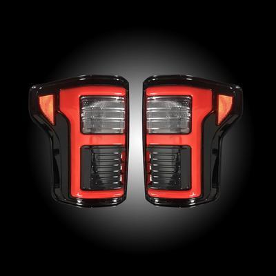 Recon LED Tail Light Assembly (Smoke) - 264268LEDBK