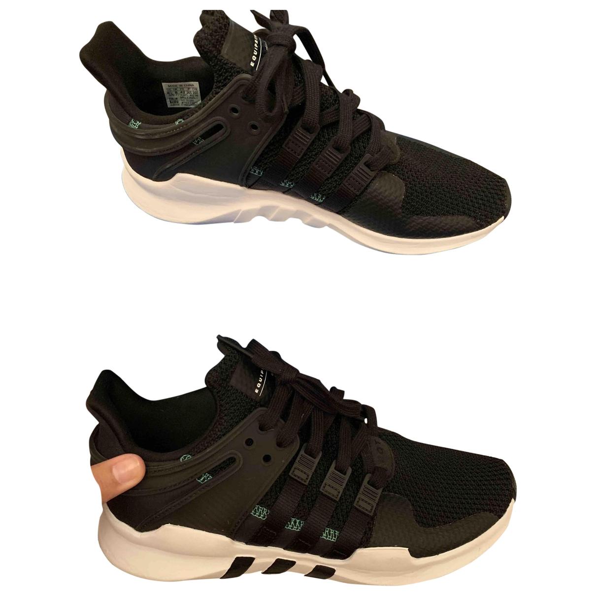 Adidas EQT Support Black Cloth Trainers for Men 42 EU