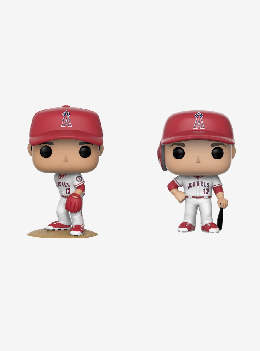 Funko Pop! MLB Anaheim Angels Shohei Ohtani Vinyl Figure Set