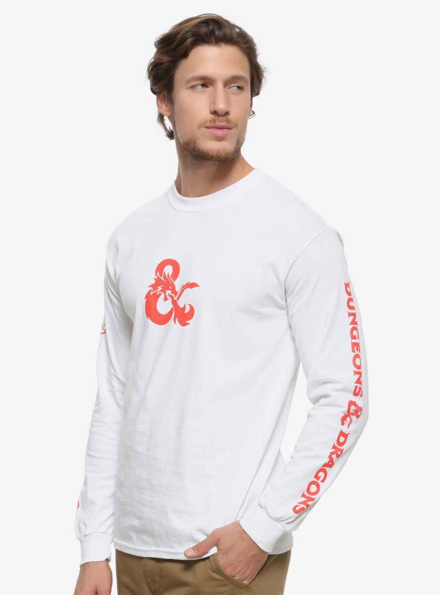 Dungeons & Dragons Dice Long Sleeve T-Shirt