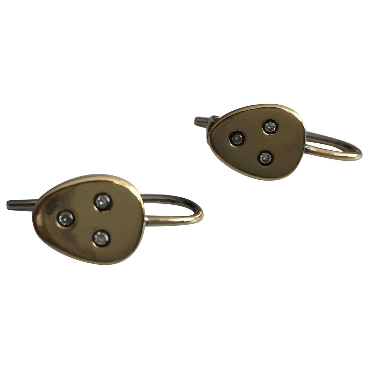 Ileana Makri \N Gold Yellow gold Earrings for Women \N
