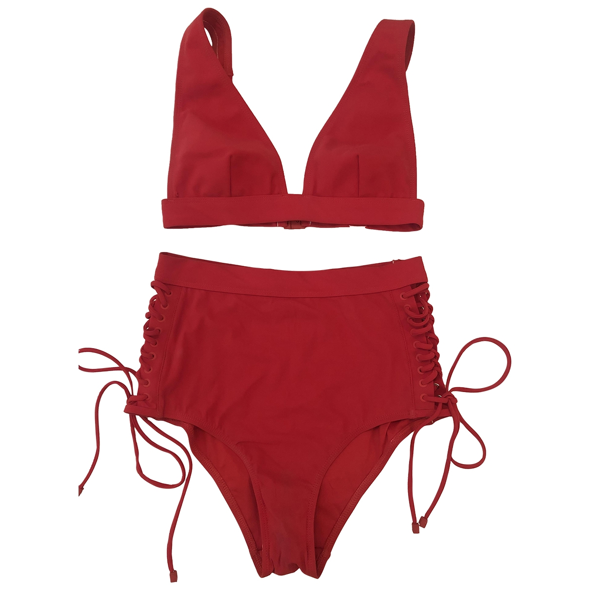 Zimmermann \N Red Cotton - elasthane Swimwear for Women 1 0-5