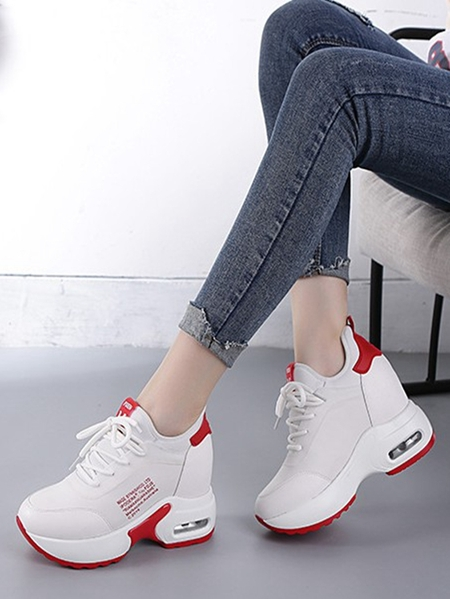 Yoins Thick Soled Sneakers