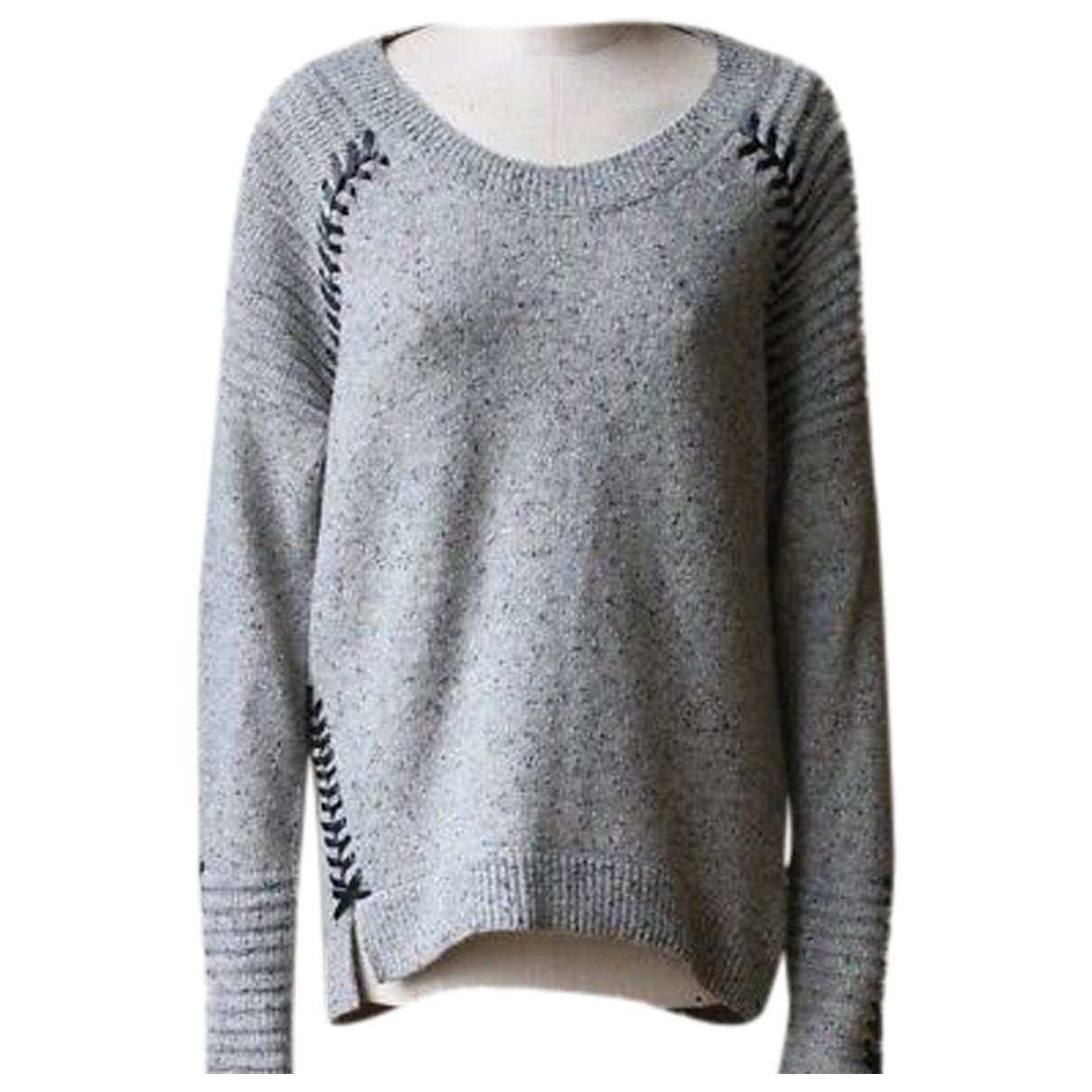 Autre Marque N Grey Wool Knitwear for Women M International