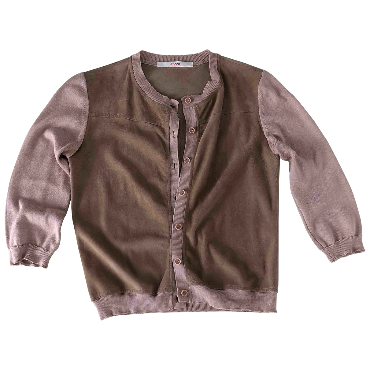 Jucca \N Ecru Cotton jacket for Women M International