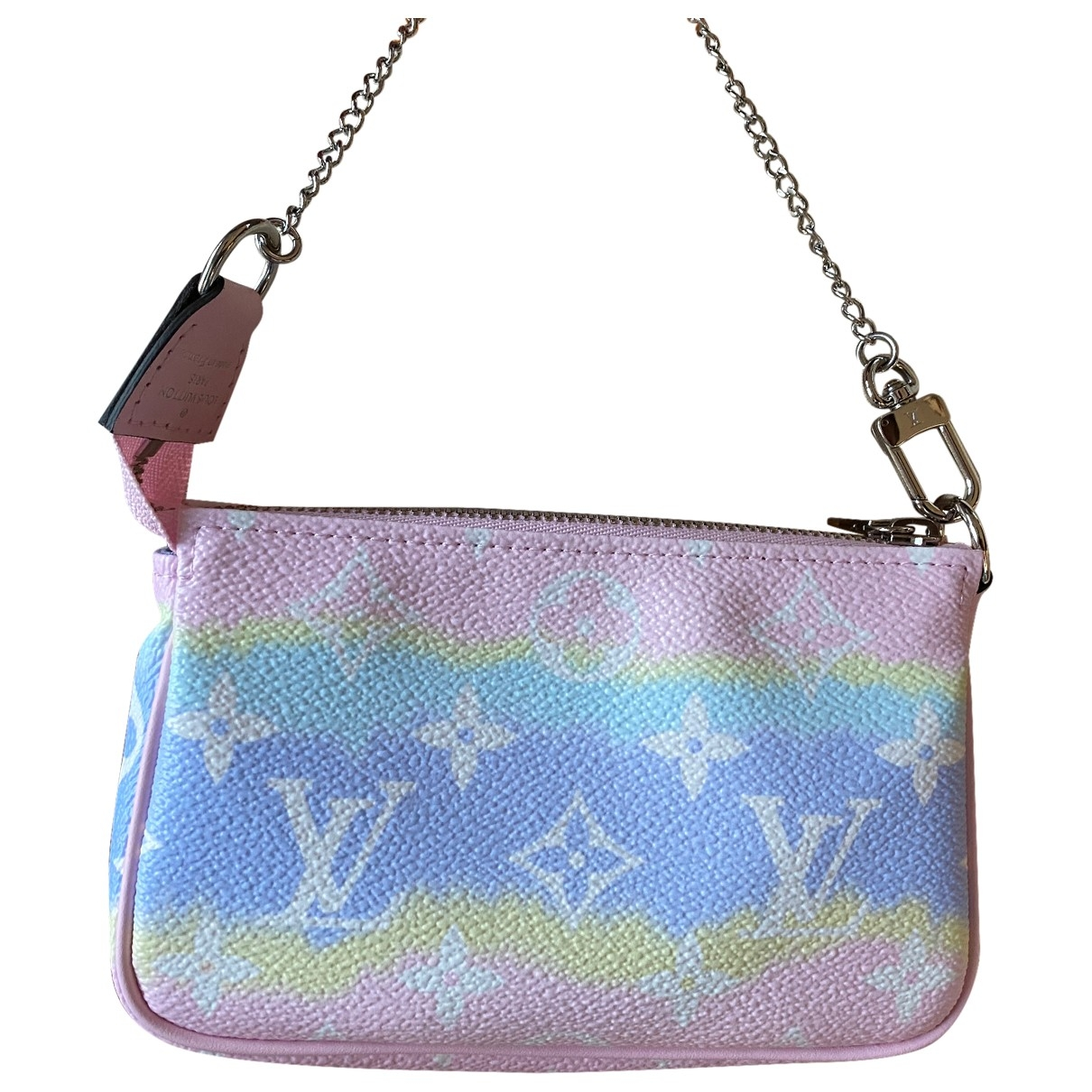 Louis Vuitton Pochette Accessoire Pink Cloth Clutch bag for Women N