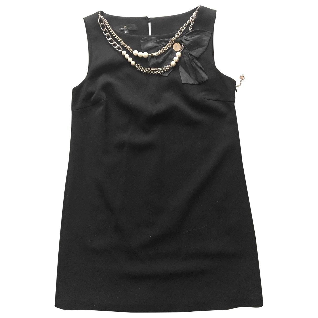 Elisabetta Franchi \N Black dress for Women 44 IT