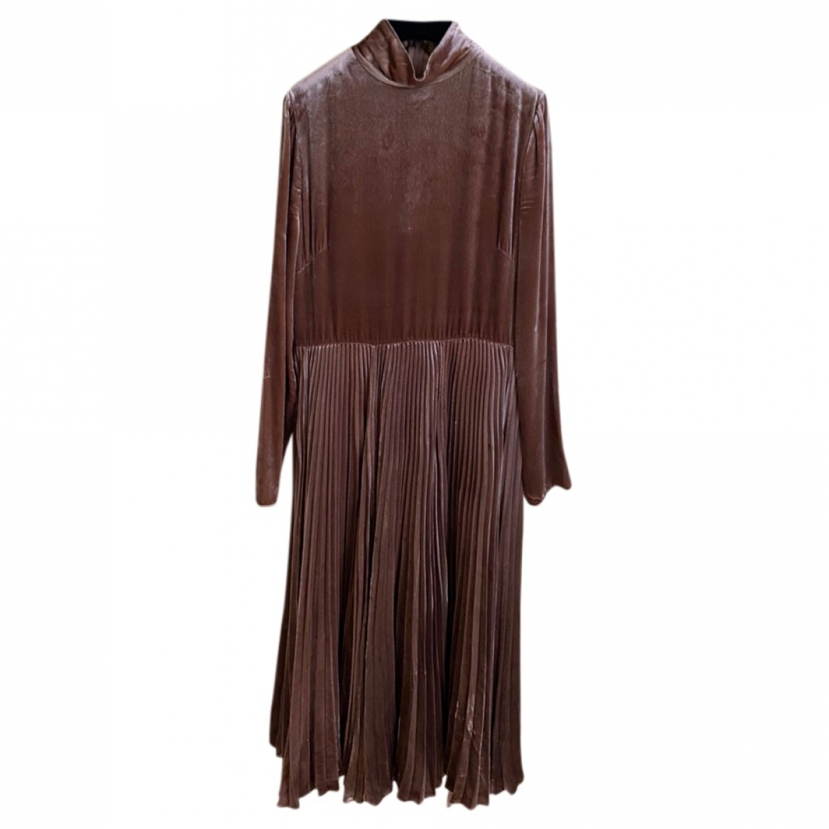 Valentino Garavani \N Kleid in  Kamel Polyester