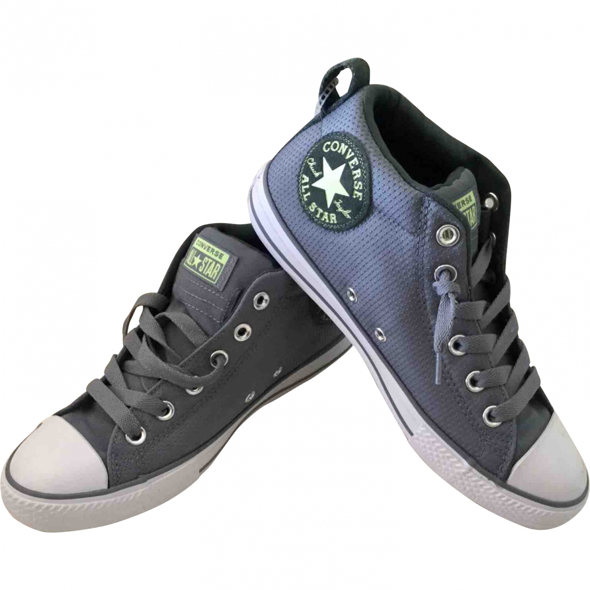 Converse \N Grey Cloth Trainers for Kids 5 US