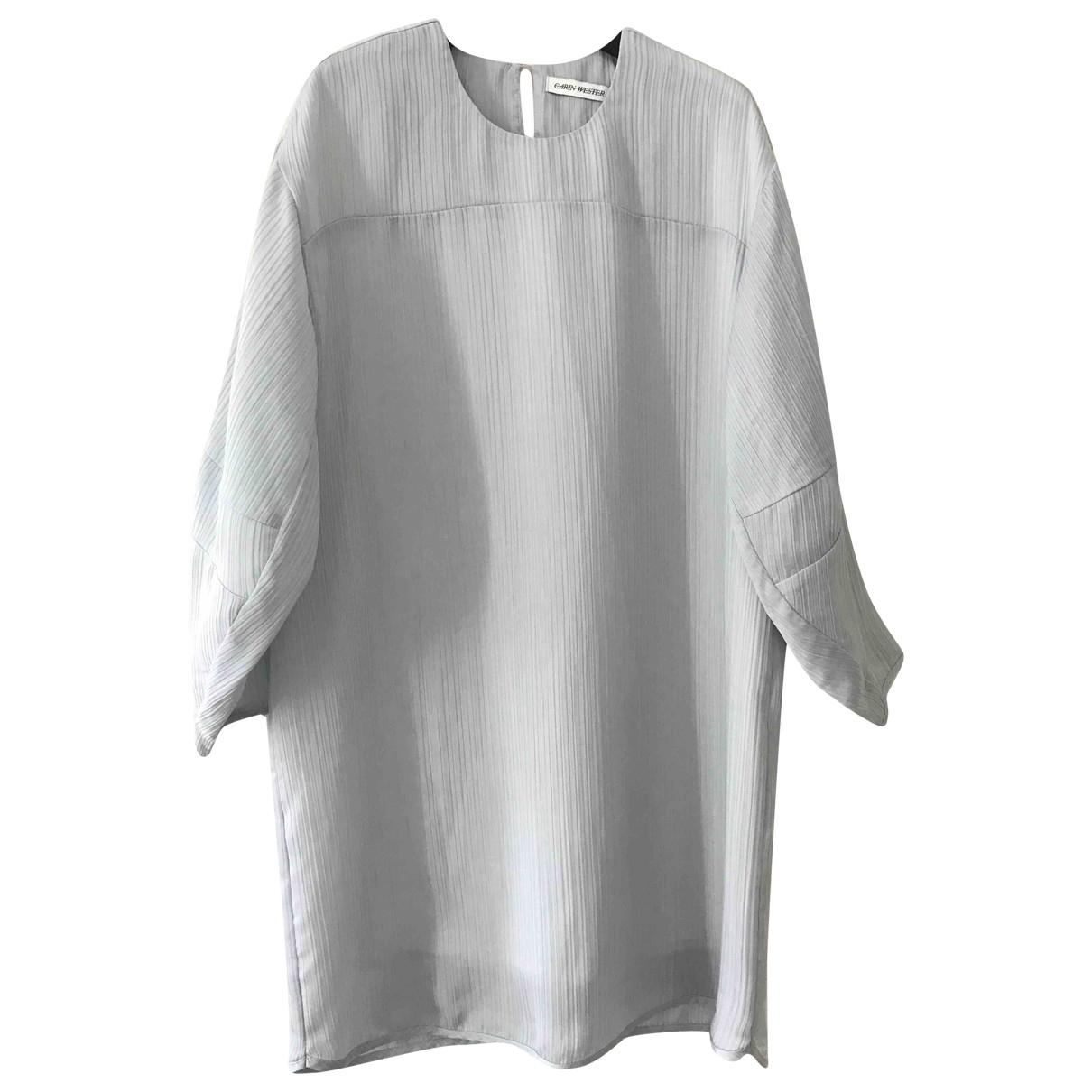 Carin Wester \N Kleid in  Blau Polyester