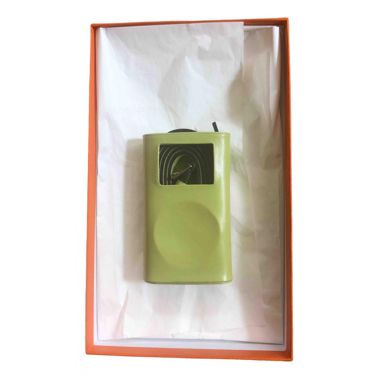 Hermes - Accessoires   pour lifestyle en cuir - vert