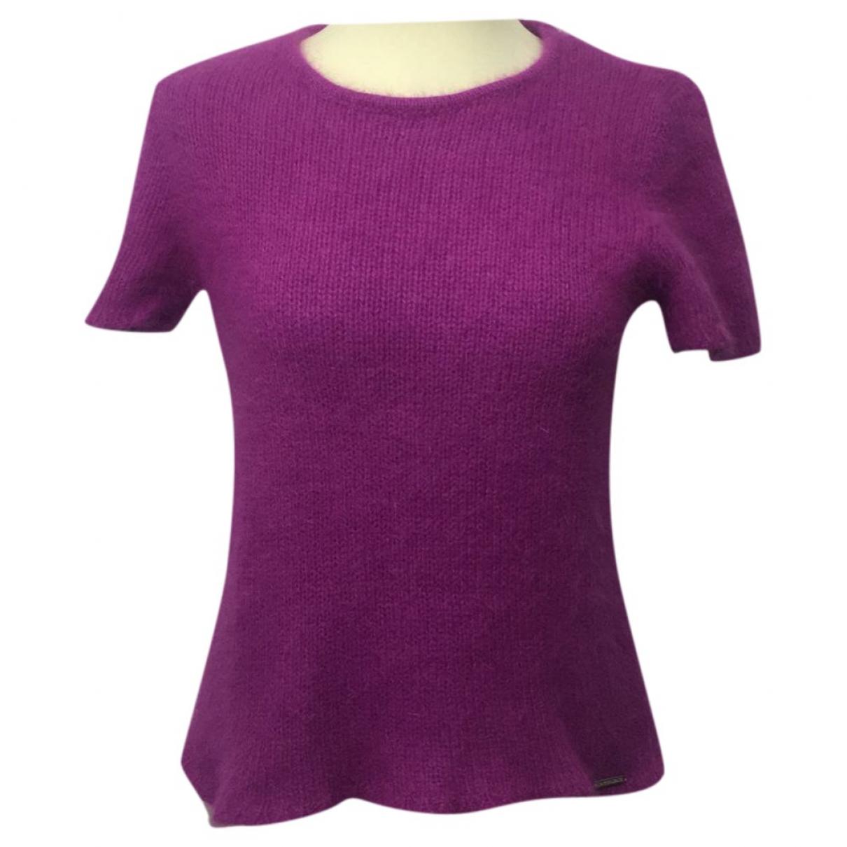 Valentino Garavani - Pull   pour femme en laine - violet