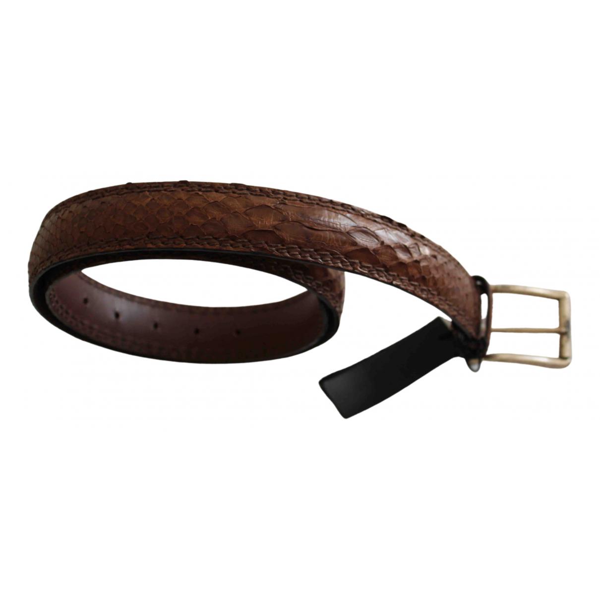 Cinturon de Cocodrilo Orciani