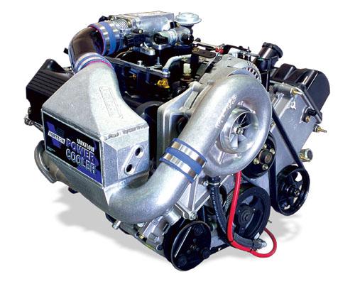 Vortech V-2 Ti Polished Tuner Kit w/ Cooler Ford Mustang GT 4.6L 2V 00-04