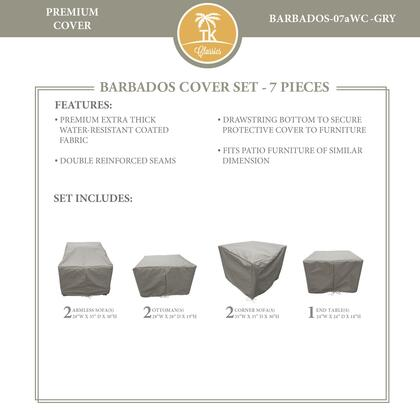 BARBADOS-07aWC-GRY Protective Cover Set  for BARBADOS-07a in