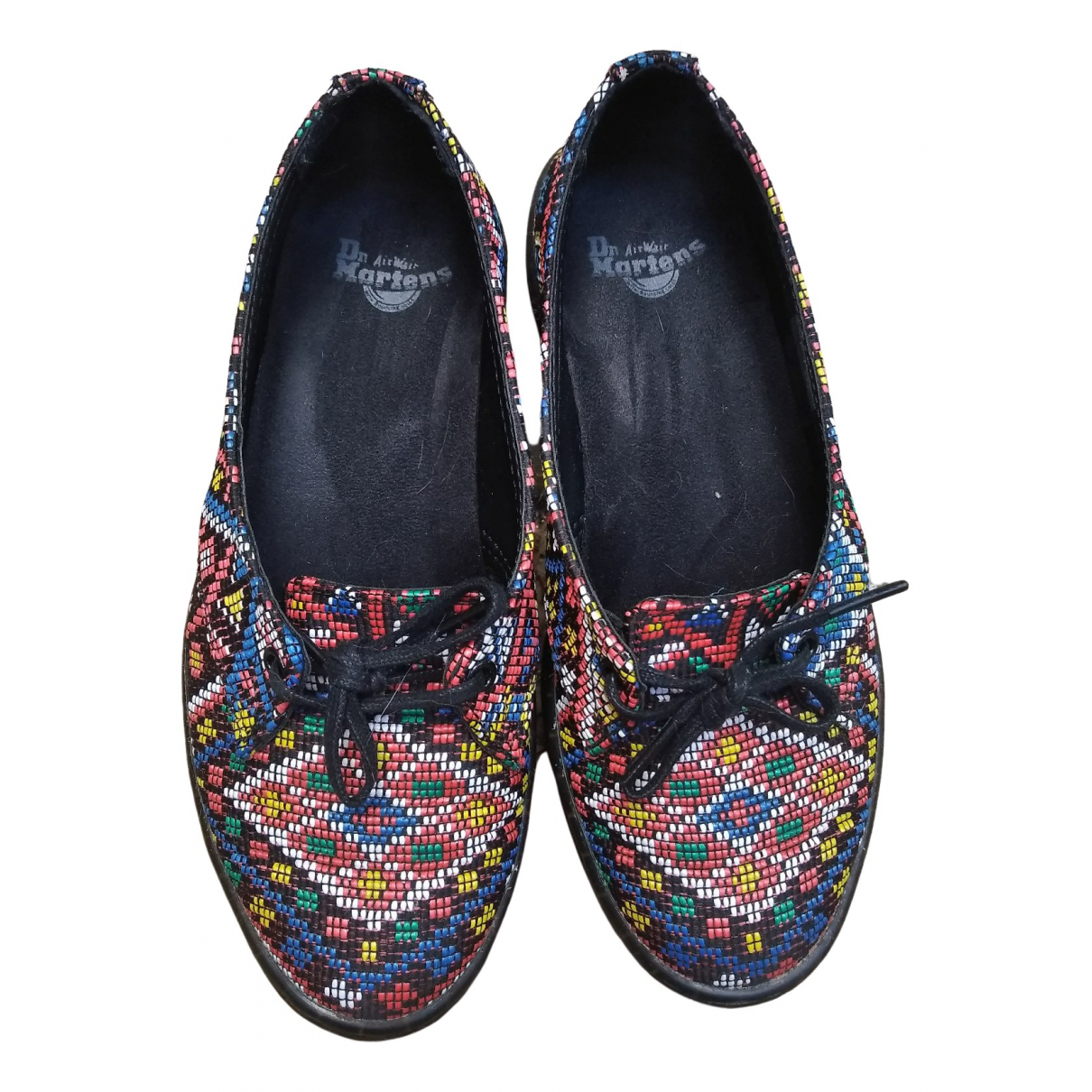 Dr. Martens \N Multicolour Rubber Lace ups for Women 36 EU