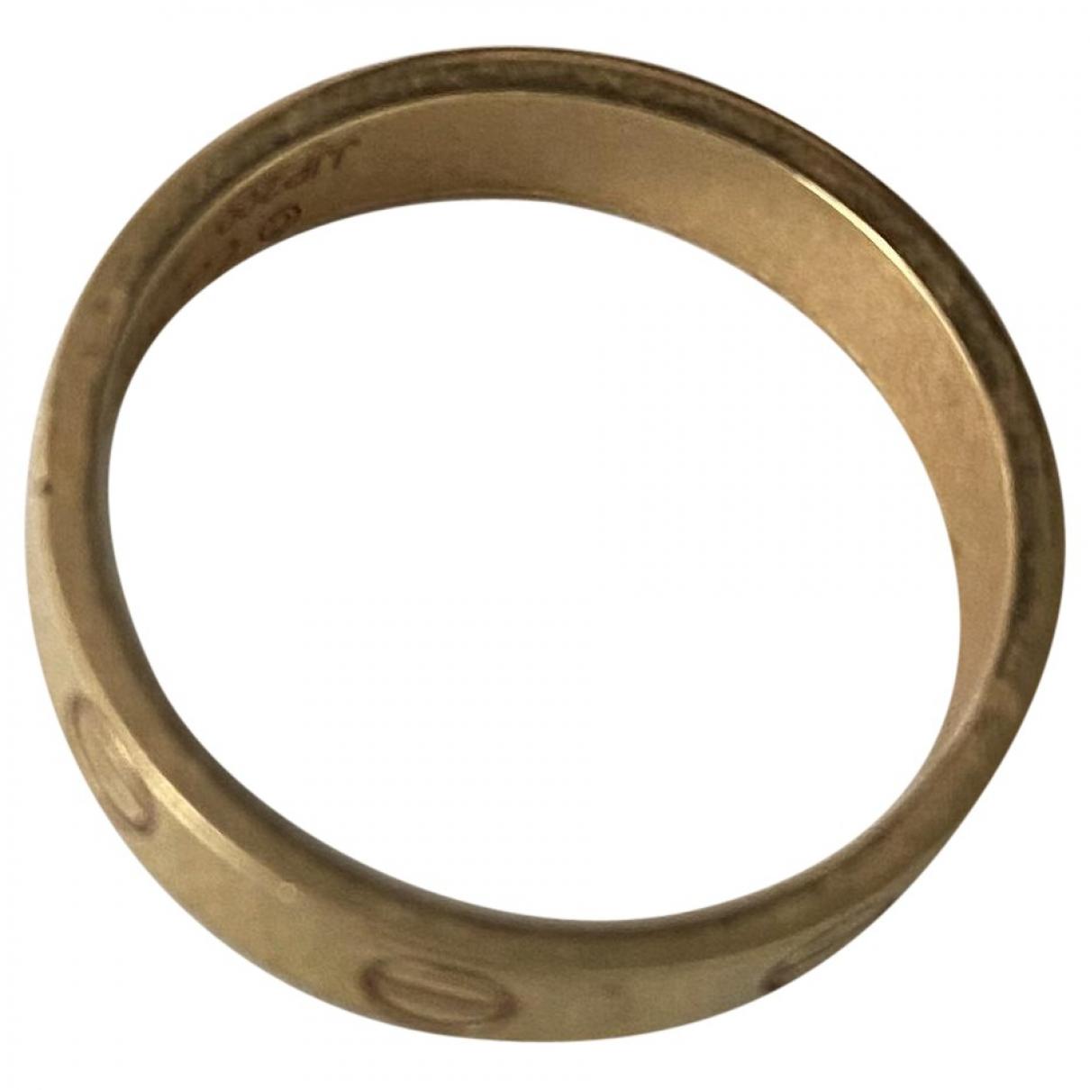 Cartier - Bague Love pour femme en or jaune - dore
