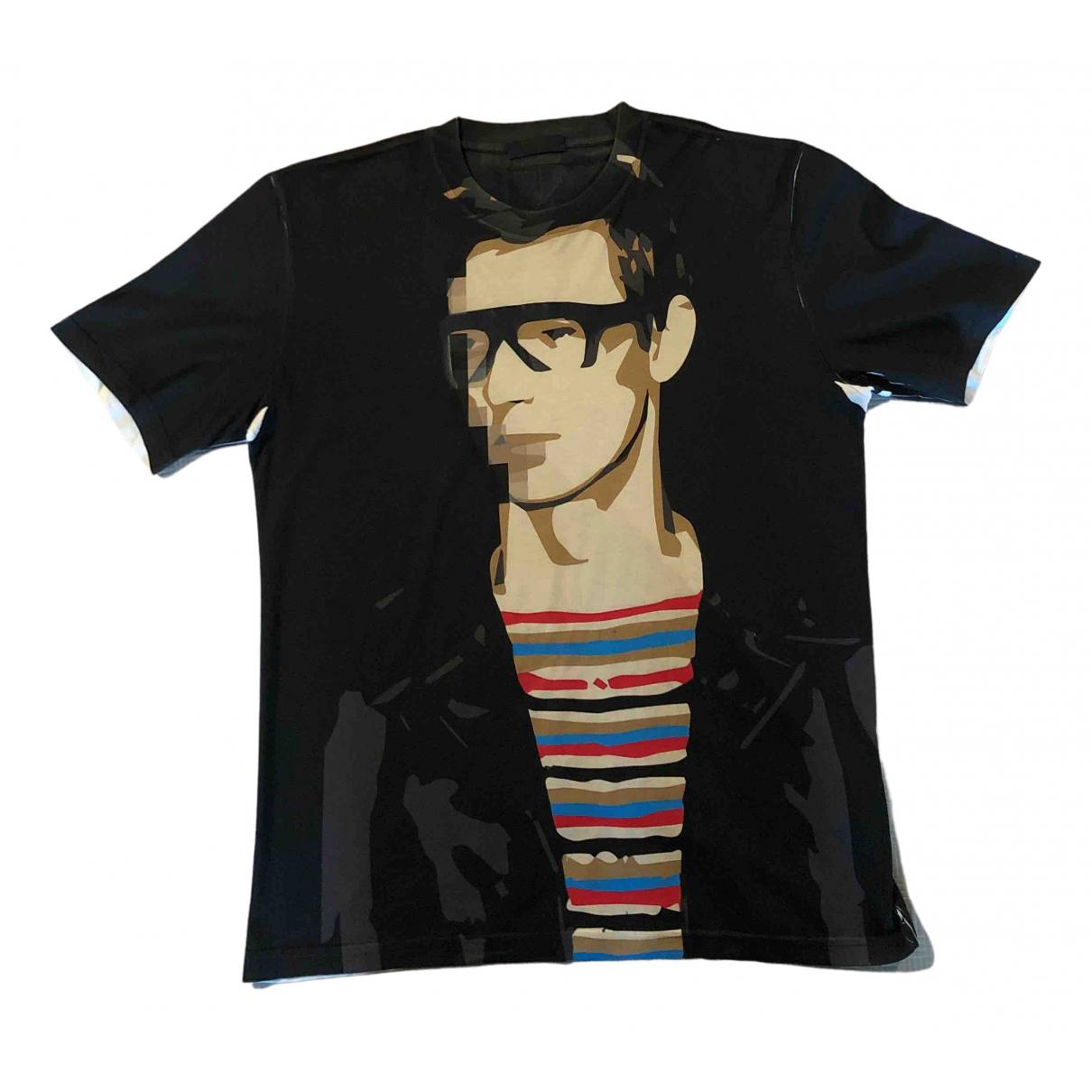 Prada - Tee shirts   pour homme en coton - noir