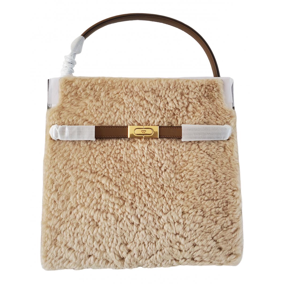 Tory Burch \N Handtasche in  Kamel Wolle