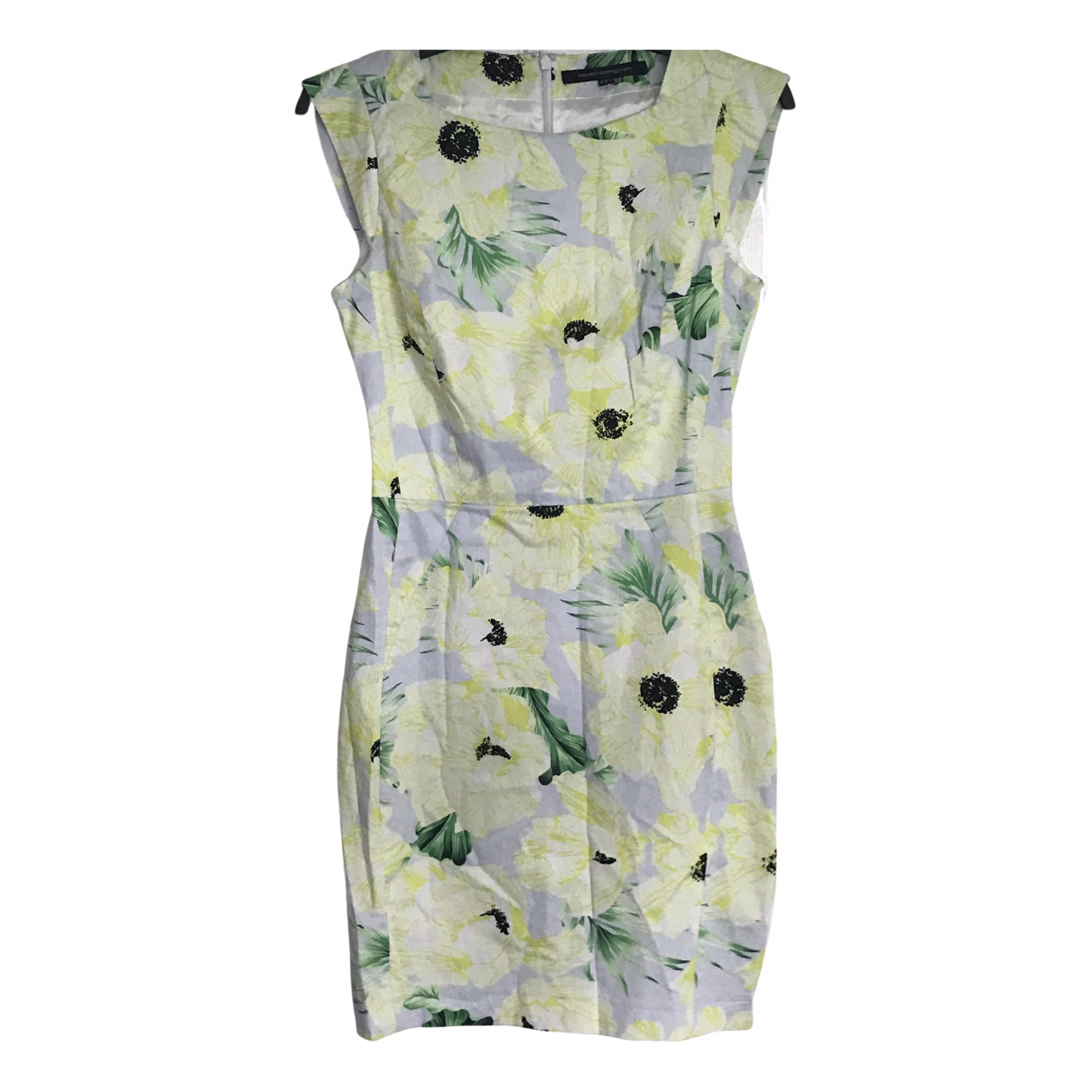 French Connection \N Yellow Cotton dress for Women 10 UK
