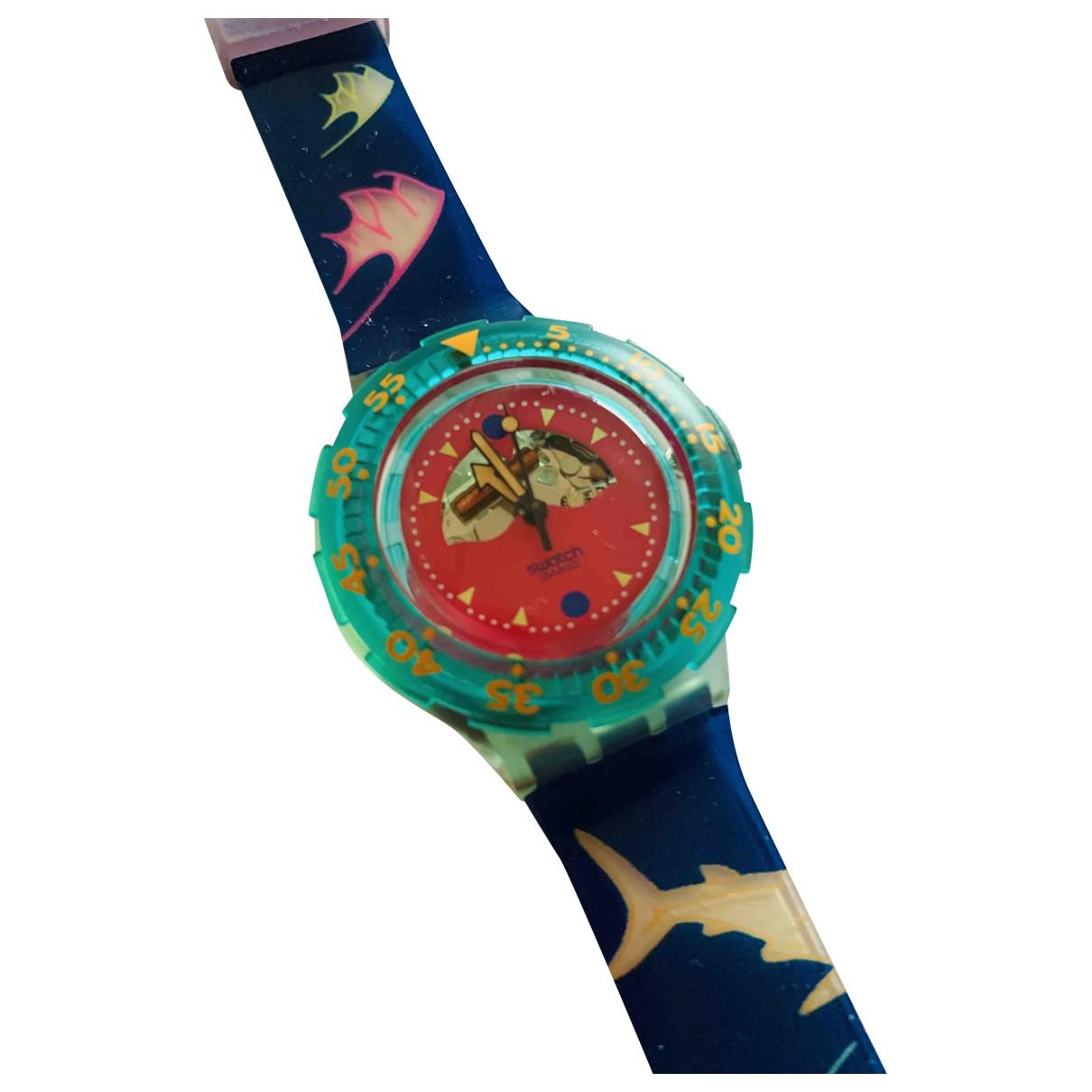 Swatch - Montre   pour homme en autre - multicolore