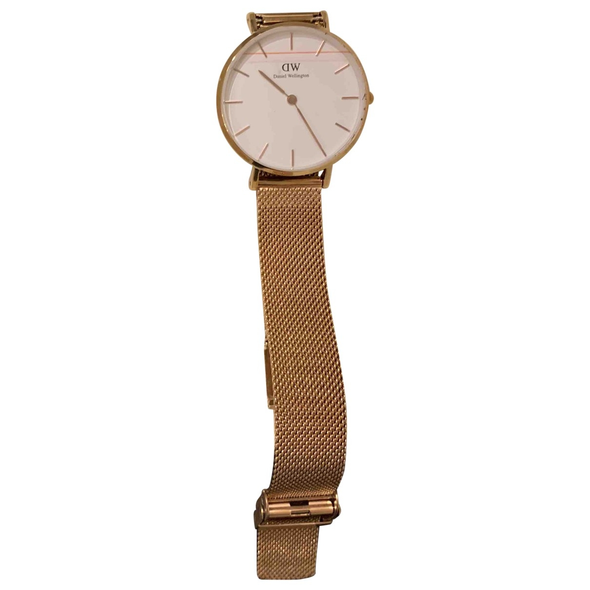 Daniel Wellington \N Gold Steel watch for Women \N