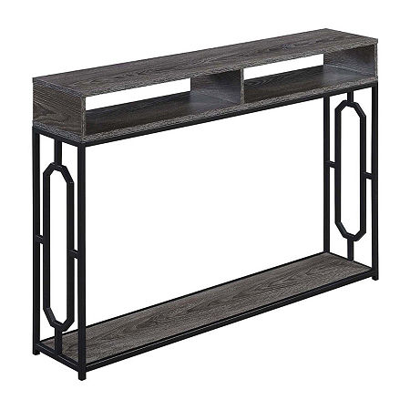 Convenience Concepts Omega Console Table, One Size , Gray