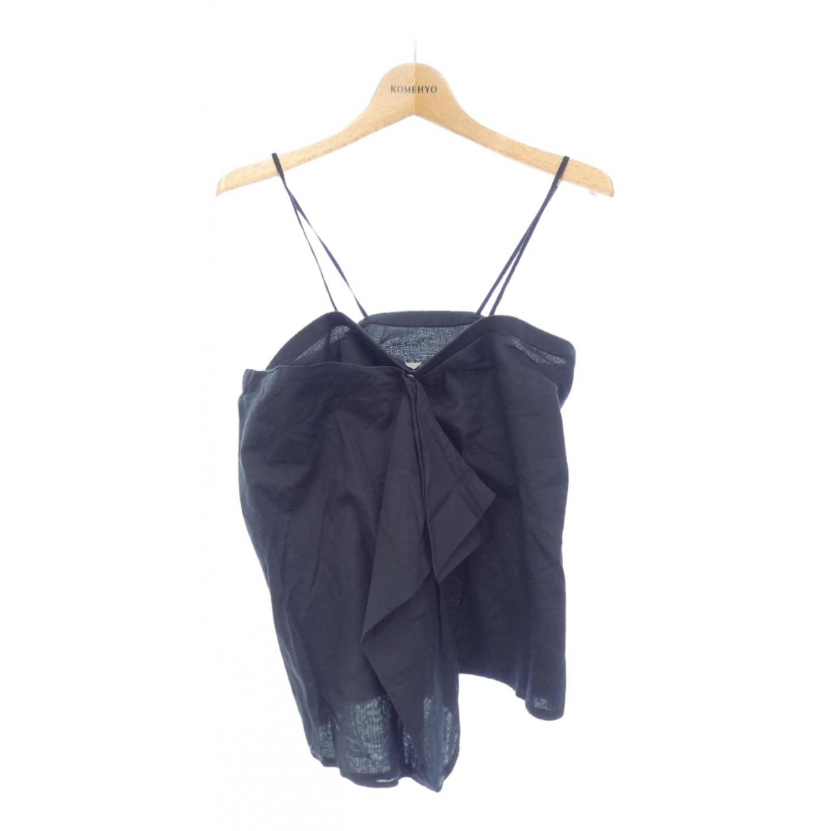 Maison Martin Margiela N Blue Cotton  top for Women 40 FR