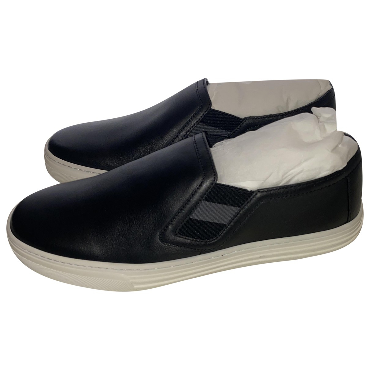 Gucci N Black Leather Trainers for Women 36 EU