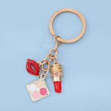 Lipstick Decor Keychain