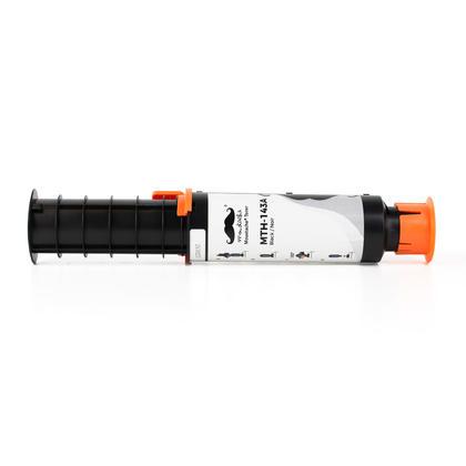 Compatible HP 143A W1143A kit de rechargement de toner neverstop noire - Moustache®