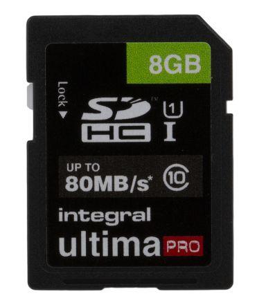 Integral Memory INTEGRAL 8GB SDHC CL10 80 MB/S ULTIMAPRO