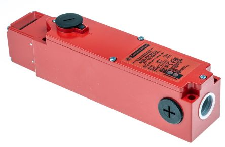 Telemecanique Sensors XCS-LF Solenoid Interlock Switch Power to Unlock 24 V ac/dc